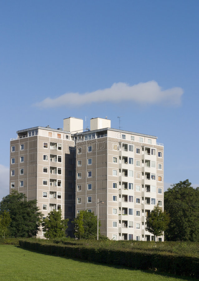 Appartamenti 8 immagine stock