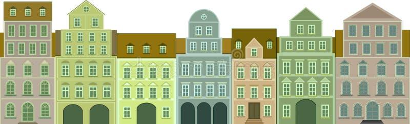 appartamenti illustrazione di stock