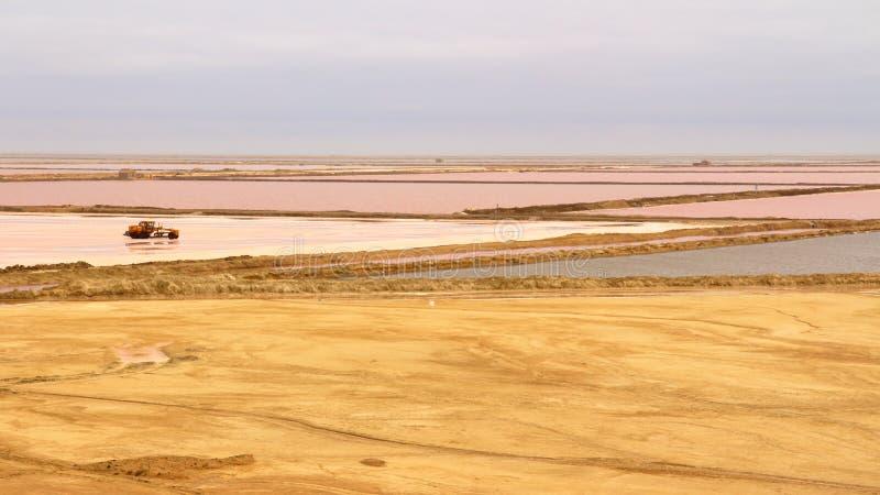 Appartamenti del sale, Namibia fotografia stock
