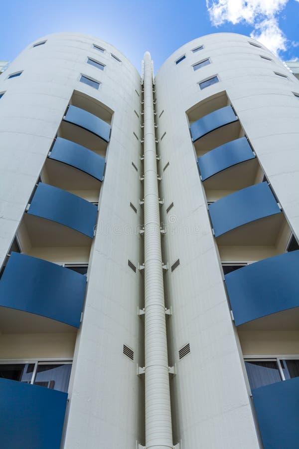 Appartamenti del silo, Hobart, Tasmania, Australia immagini stock
