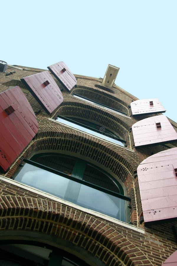 Appartamenti di Amsterdam immagine stock libera da diritti