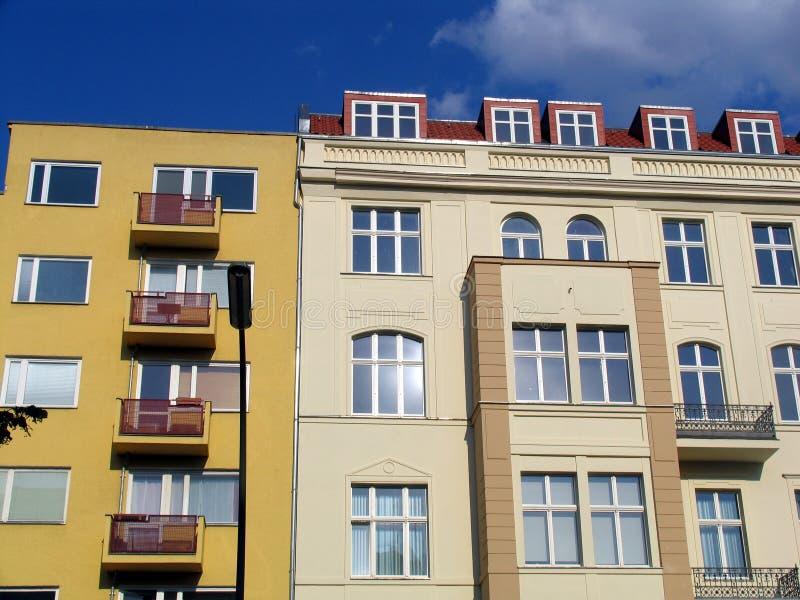 Appartamenti di Berlino fotografia stock libera da diritti
