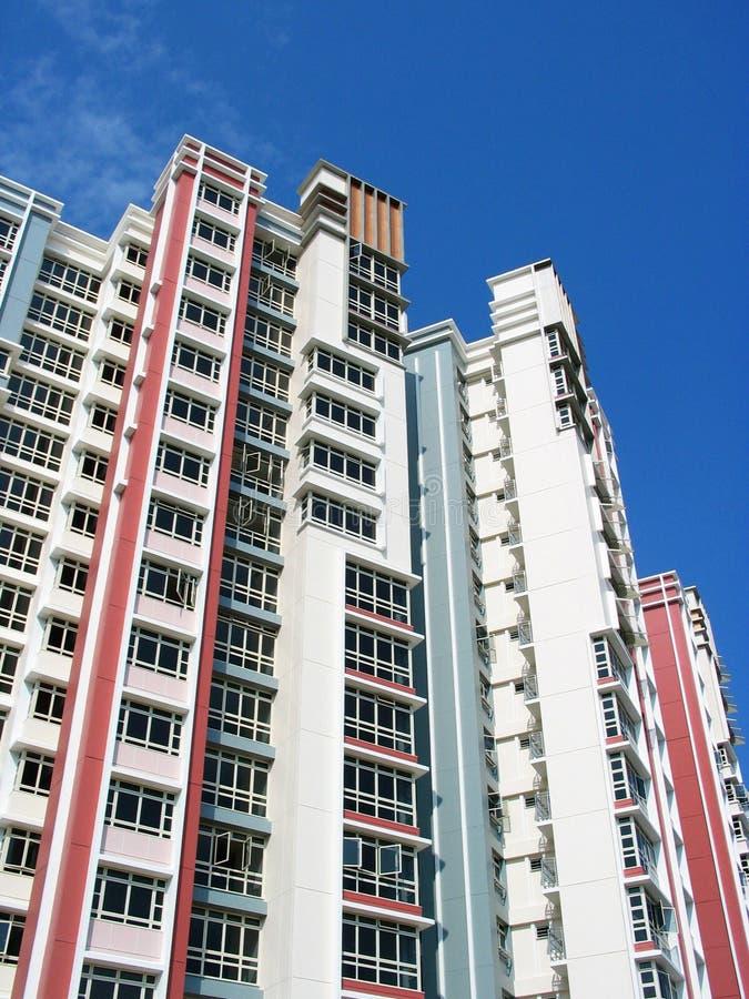 Appartamenti Di HDB Fotografia Stock Libera da Diritti