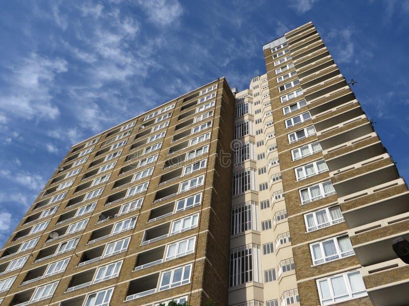 Appartamenti Di Londra Fotografia Stock Libera da Diritti
