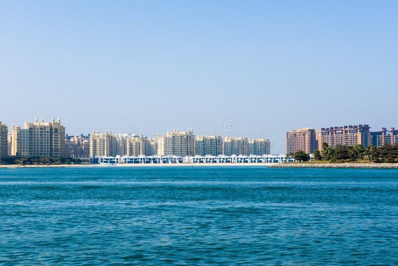 Appartamenti ed appartamenti del Dubai immagine stock libera da diritti