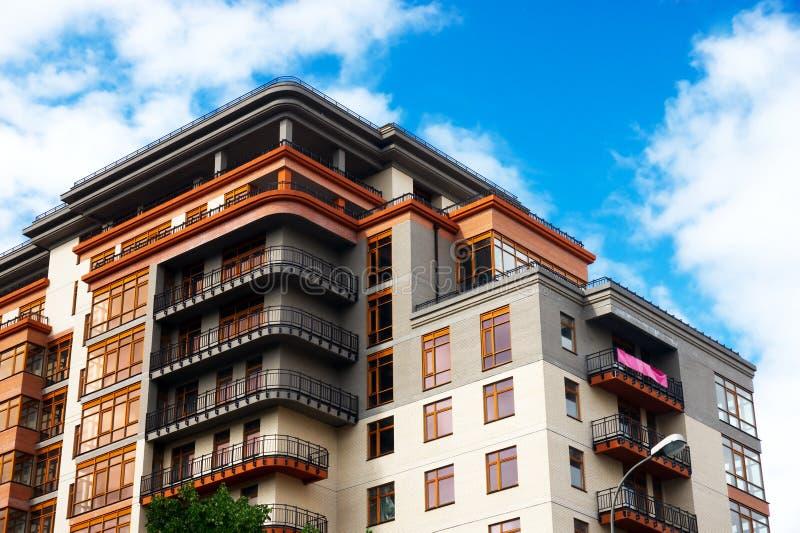 Appartamenti moderni fotografia stock libera da diritti