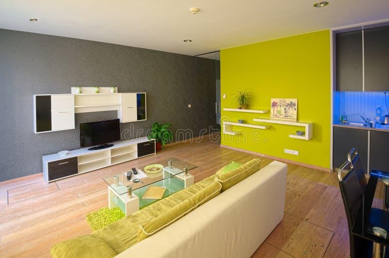 Appartamenti moderni fotografia stock immagine di for Piani di appartamenti moderni