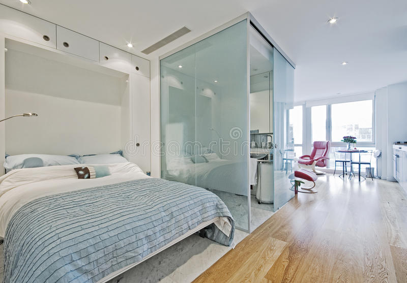 Appartamento di studio immagine stock