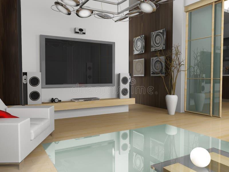 Appartamento moderno illustrazione di stock illustrazione for Appartamento moderno