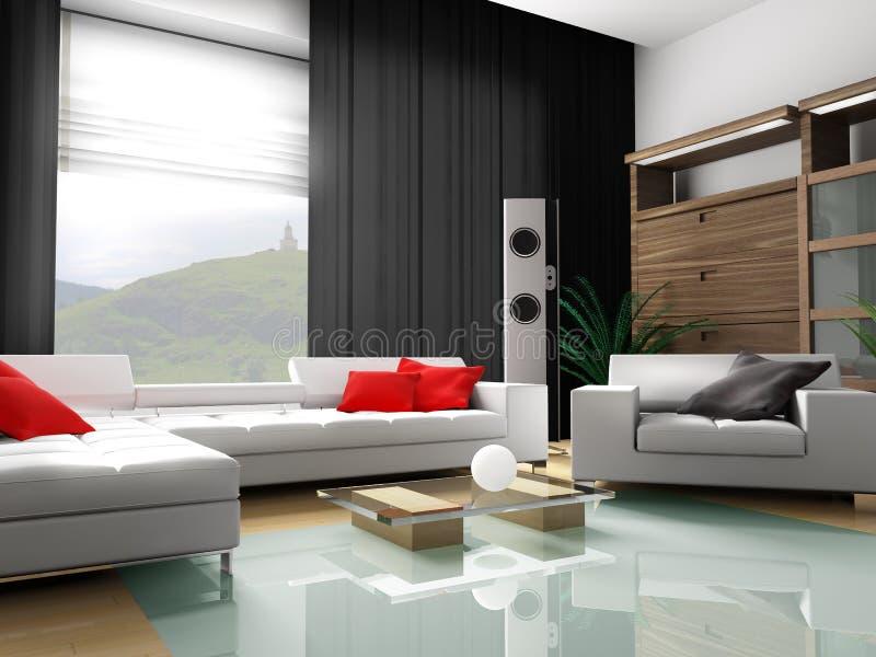 Appartamento moderno illustrazione di stock