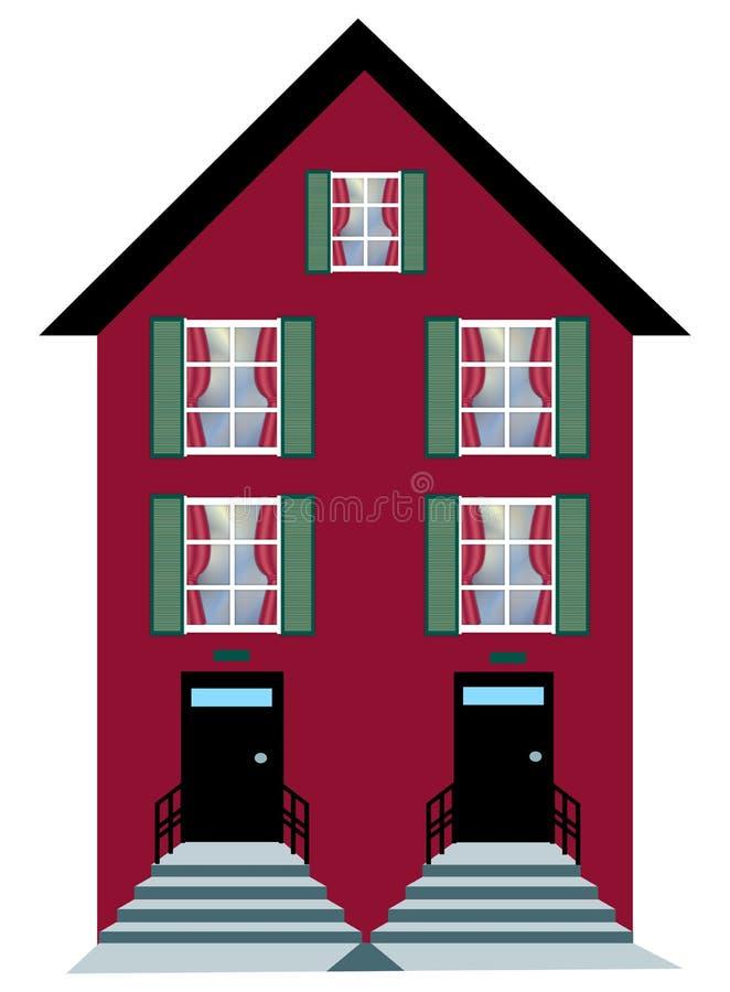 appartement illustration libre de droits