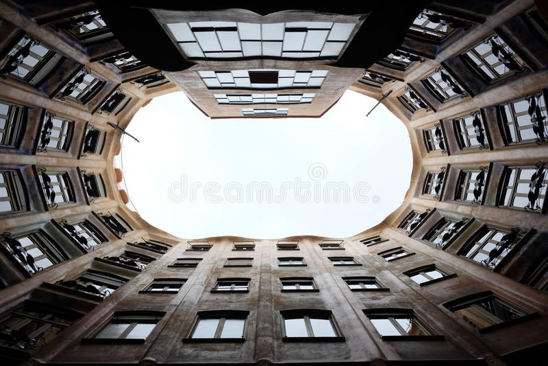 Appartement de Barcelonian photo stock