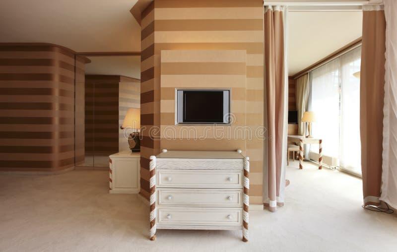 Appartement de luxe intérieur photos libres de droits
