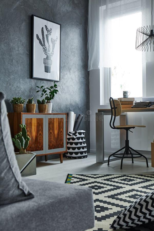 Appartement gris multifonctionnel photos libres de droits