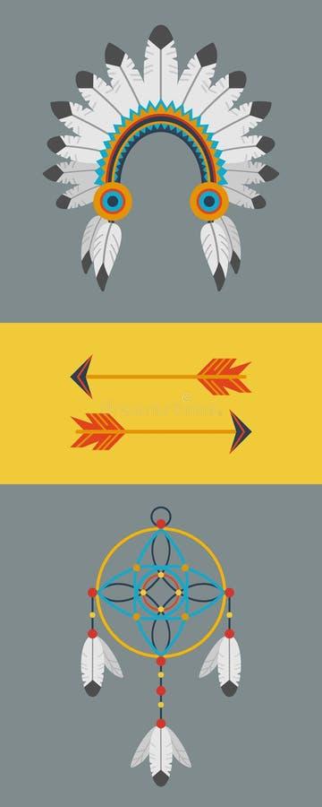 Appartement indien illustration stock