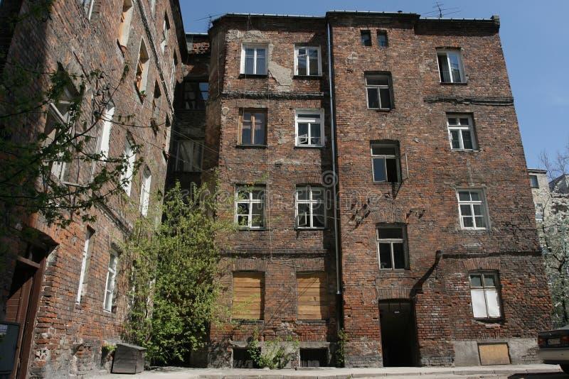 Appartement-maison image libre de droits