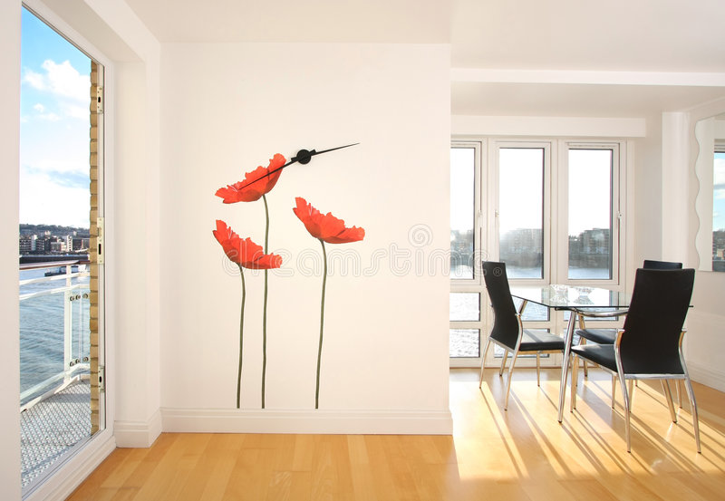 appartement moderne photos stock