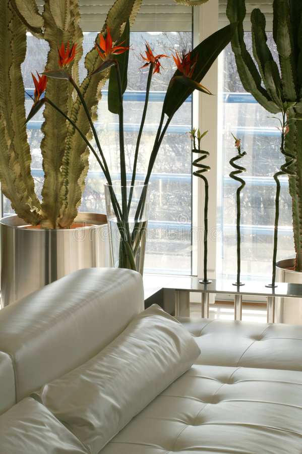 Appartement terrasse de luxe photographie stock libre de droits