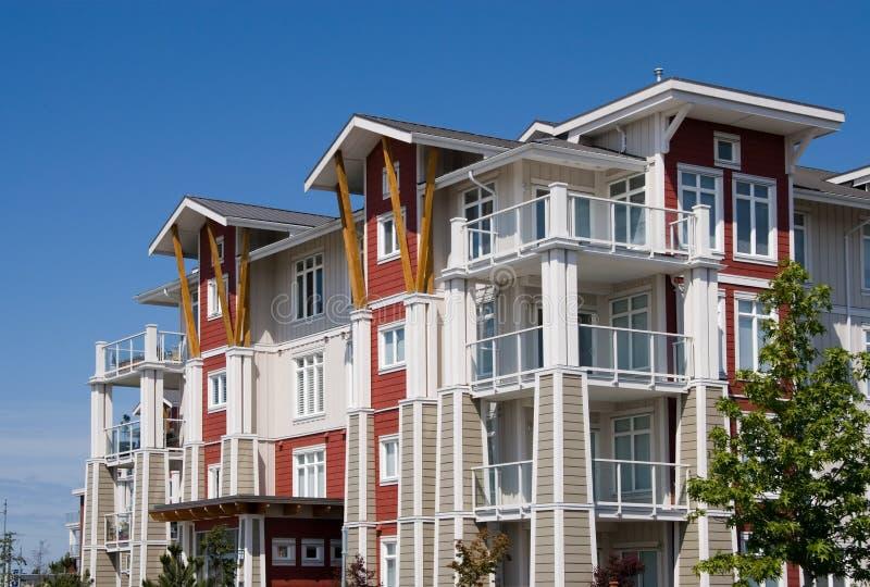 Appartementkomplex lizenzfreies stockfoto
