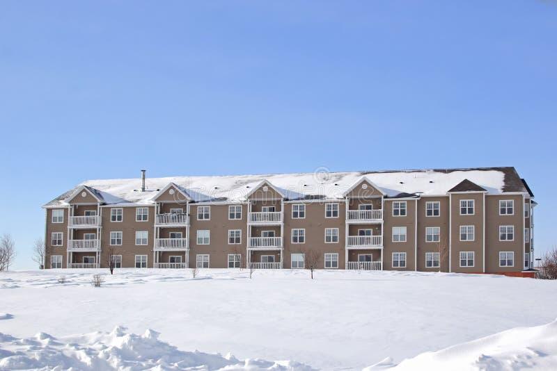 Appartements 3. de l'hiver. images stock