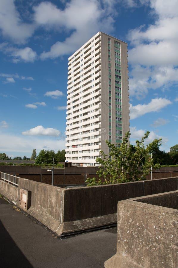 Appartements ayant beaucoup d'étages image stock