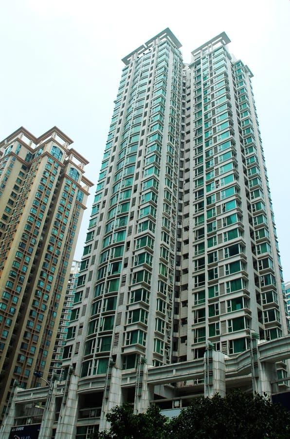Appartements dans le ¼ de Cantonï de ¼ de guangzhouï image stock