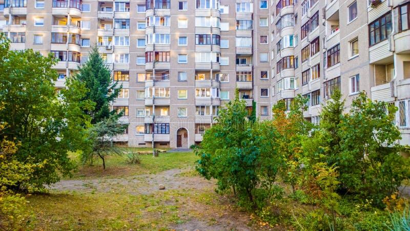 Appartements de bloc photographie stock libre de droits