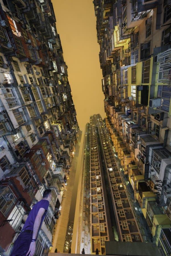 Appartements de Hong Kong photographie stock