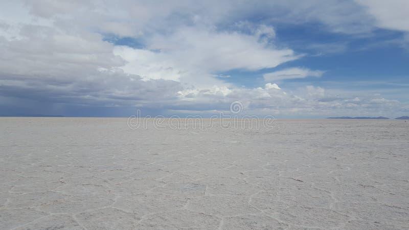 Appartements de sel d'Uyuni images libres de droits