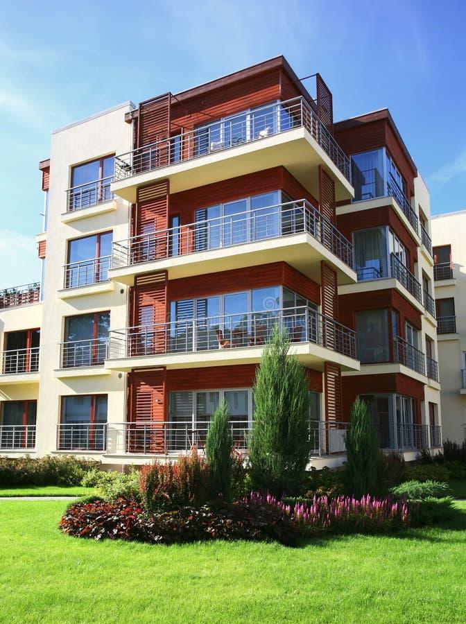 Appartements modernes photos libres de droits