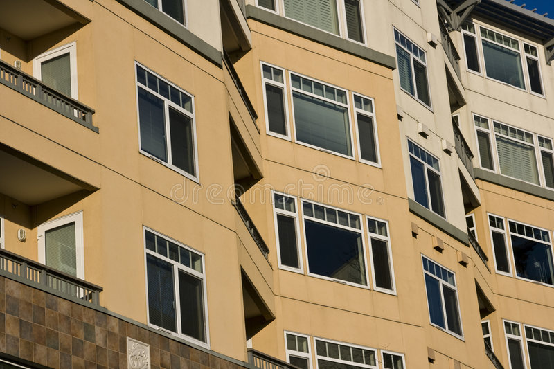 Appartements modernes image stock