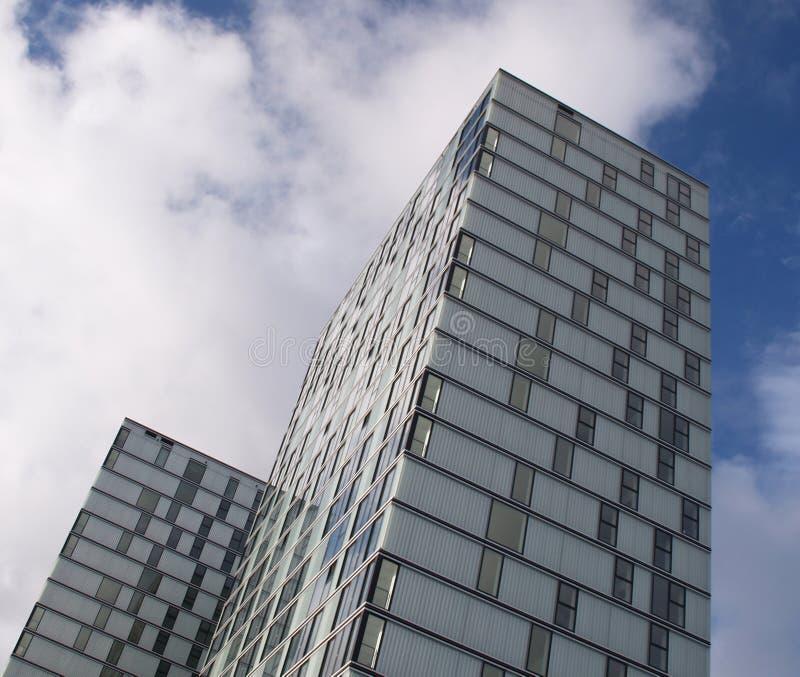Appartements modernes dans Almere photographie stock