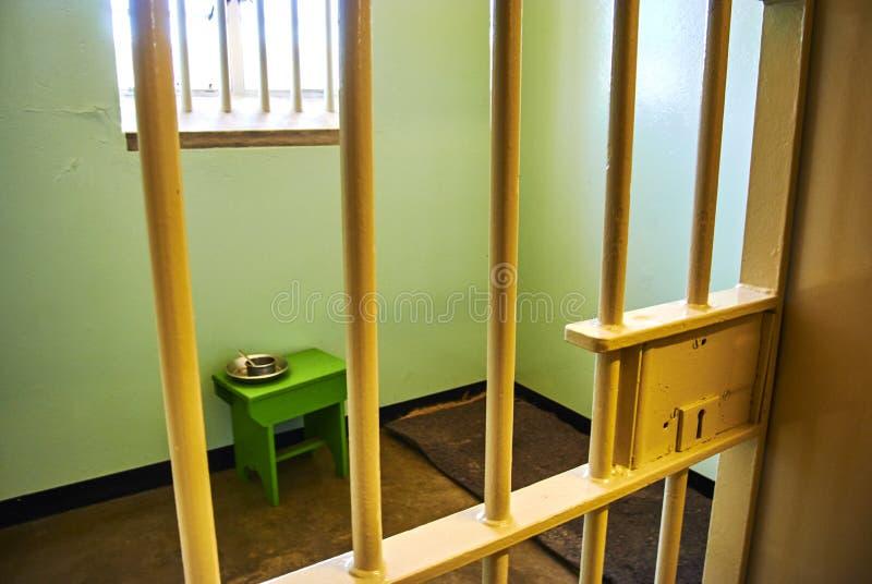 Appartheid touristique de visite de prison d'île de Robben photos libres de droits