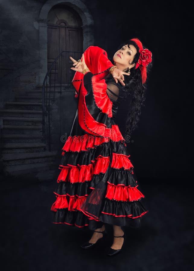 Appealing mature female dancer royalty free stock image