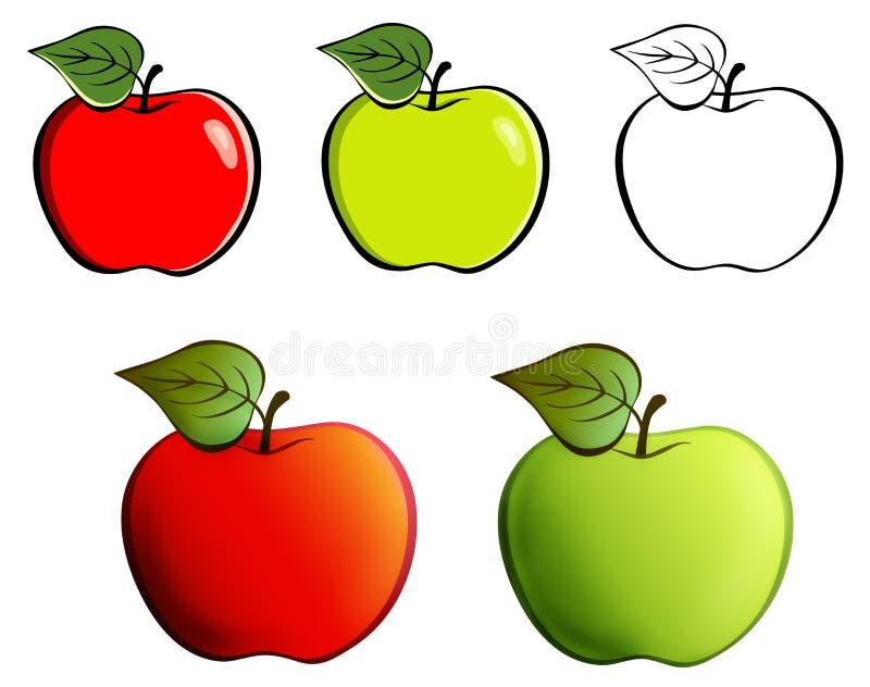 Appel stock illustratie