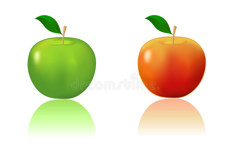 Appel vector illustratie