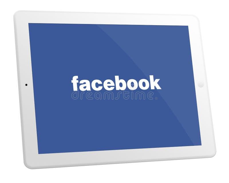 Appel iPad 2 royalty-vrije illustratie