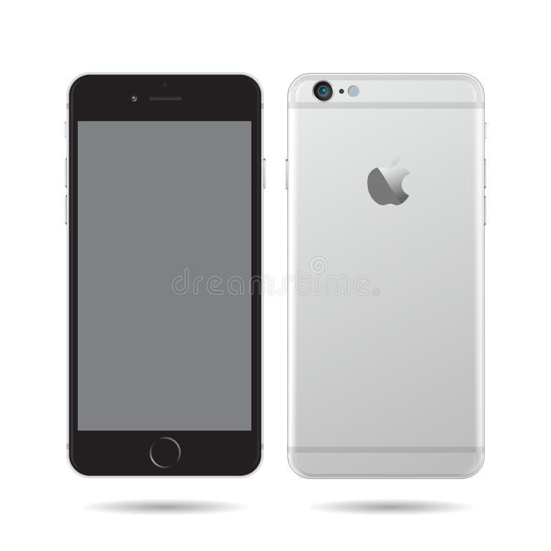 Appel Iphone 4s stock illustratie