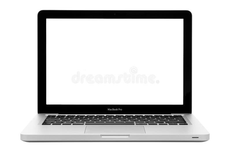 Appel Macbook Pro 13 royalty-vrije stock afbeelding