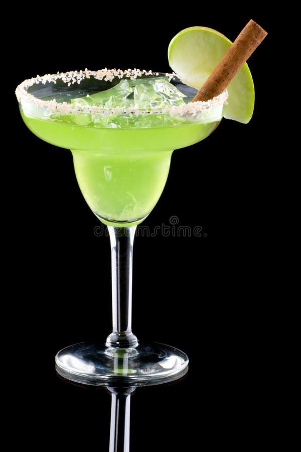 Appel Margarita - de Meeste populaire cocktailsreeks royalty-vrije stock foto's