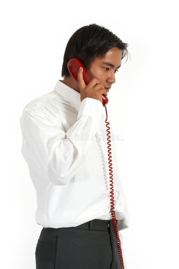 Appel téléphonique photographie stock libre de droits