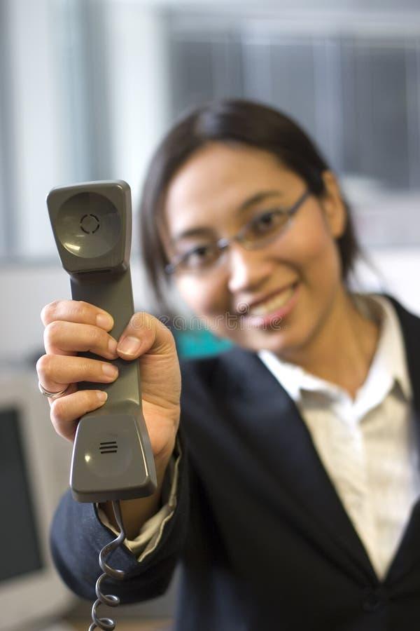 Appel téléphonique pour vous images libres de droits