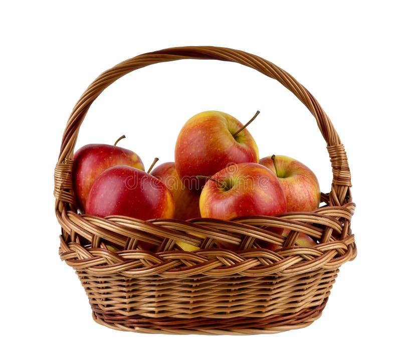appelen in de mand stock foto