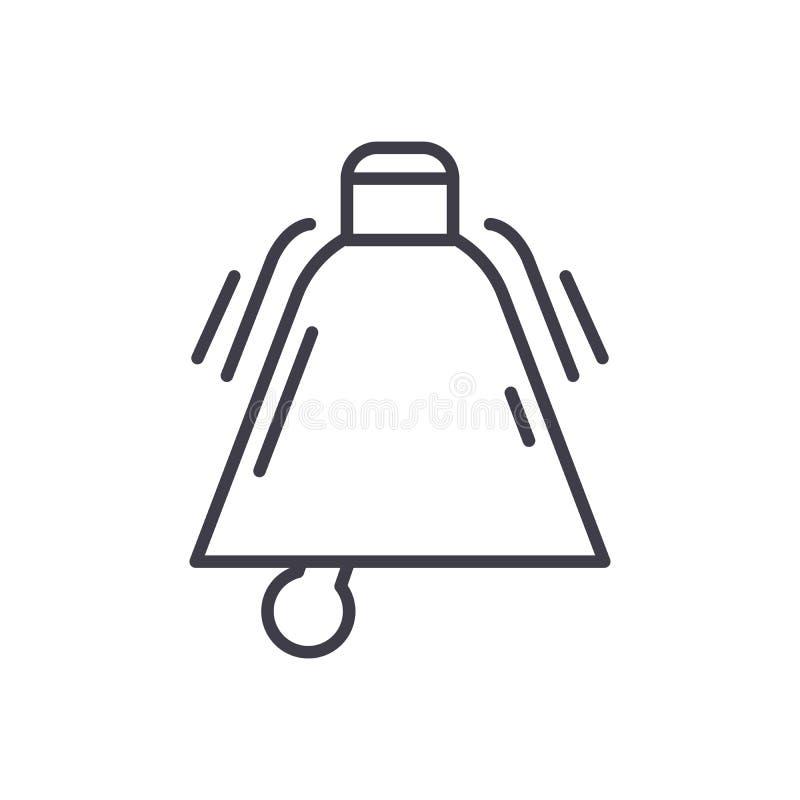 Appell till begreppet för handlingsvartsymbol Appell till symbolet för handlinglägenhetvektor, tecken, illustration royaltyfri illustrationer