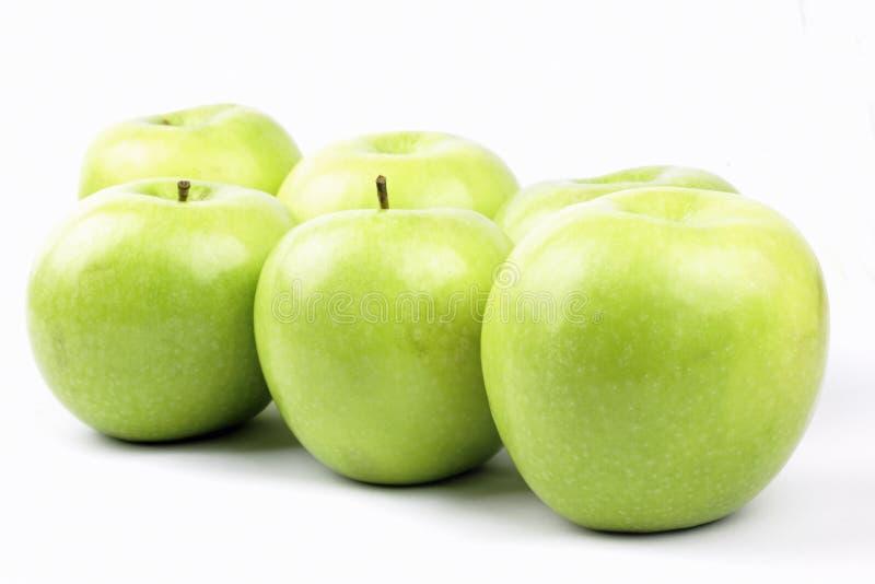 Appels verdes imagenes de archivo