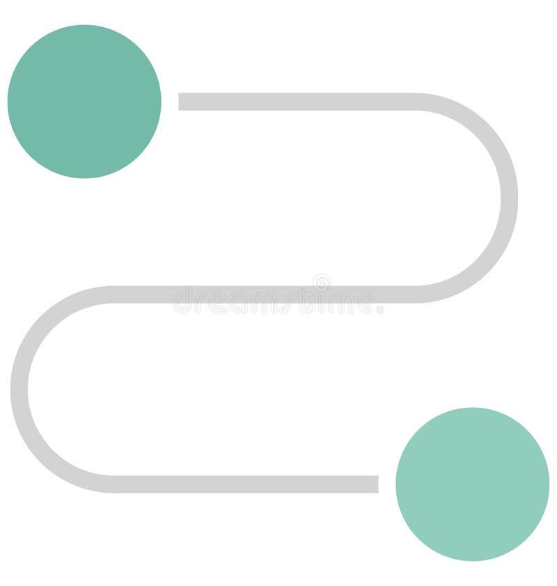 Appen isolerade vektorsymbolen som kan lätt ändra eller redigera royaltyfri illustrationer