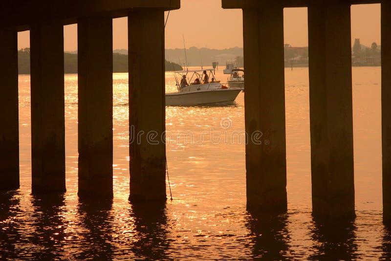 Download Appena pescando immagine stock. Immagine di tampa, baia - 125349