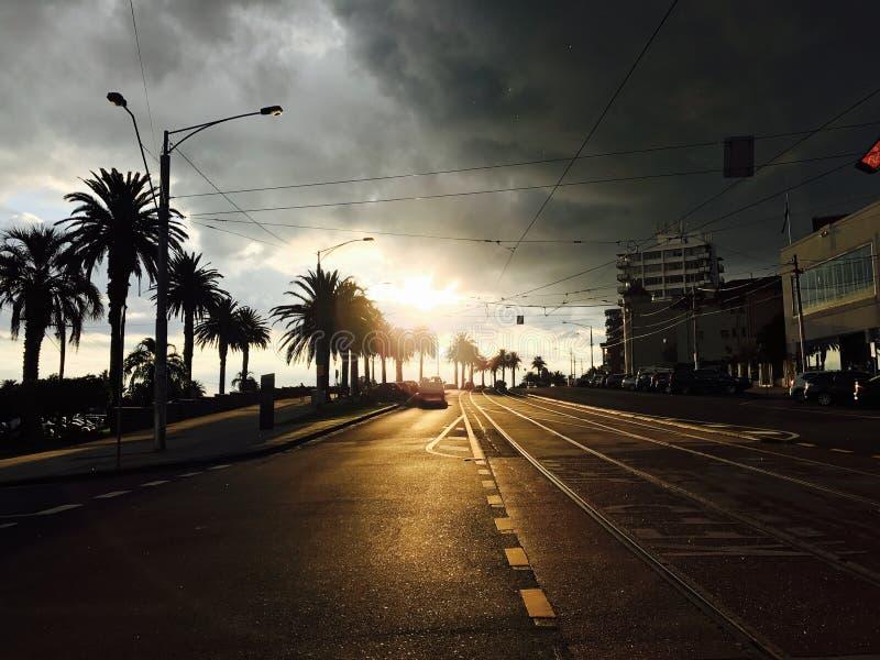 Appena prima il tramonto immagine stock libera da diritti