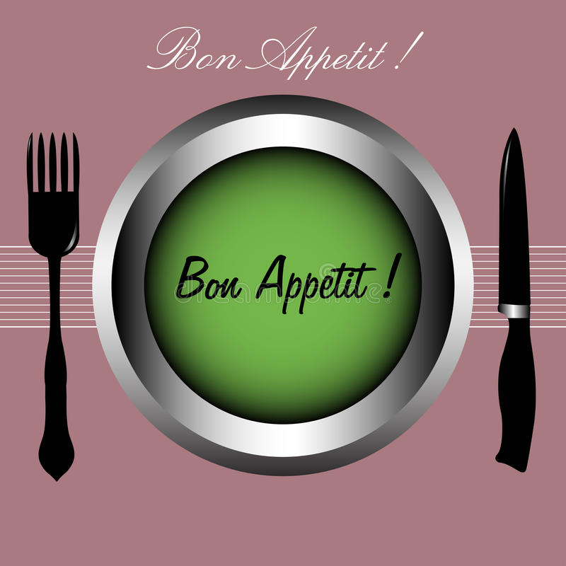 Appetit del Bon royalty illustrazione gratis