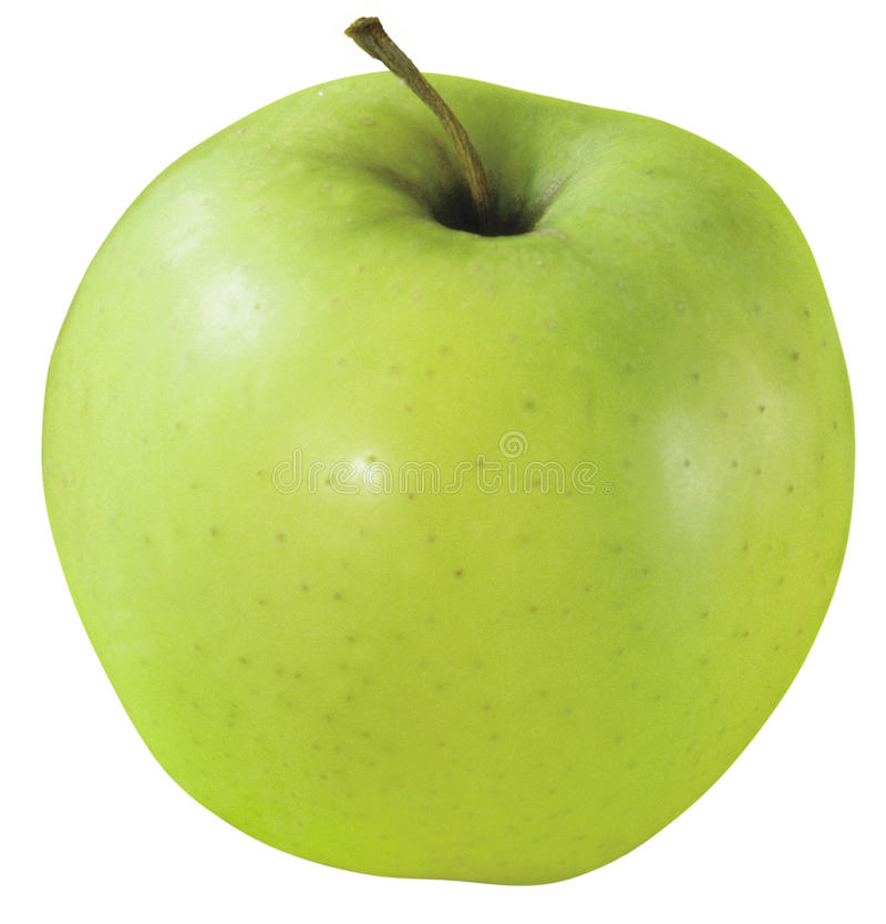 Appetite green apple royalty free stock images